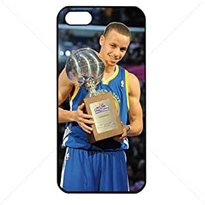 NBA Golden State Warriors Stephen Curry Case For Ipod Touch 4 Cover PC Soft (Black)