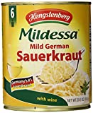 Hengstenberg Mildessa Sauerkraut In Wine Tin, 28.6-Ounce (Pack of 6)