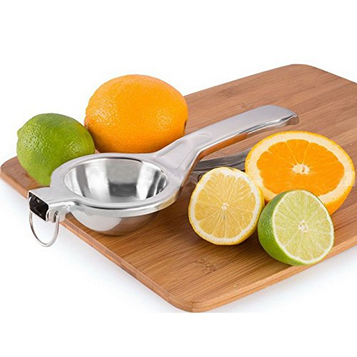 Iumer Lemon Squeezer Stainless Steel Manual Citrus Press Juicer Kitchen Hand Press Tool