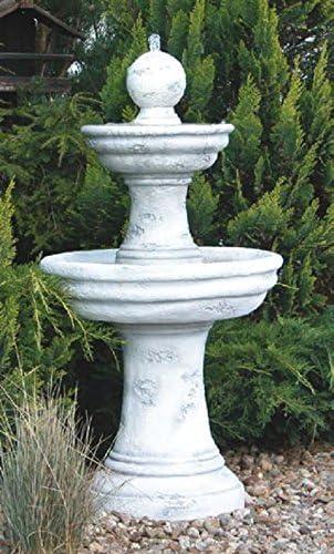 Fontäne (s207012) fuentes ornamentales Brunnen Jardín Decoración de piedra 123 cm: Amazon.es: Jardín