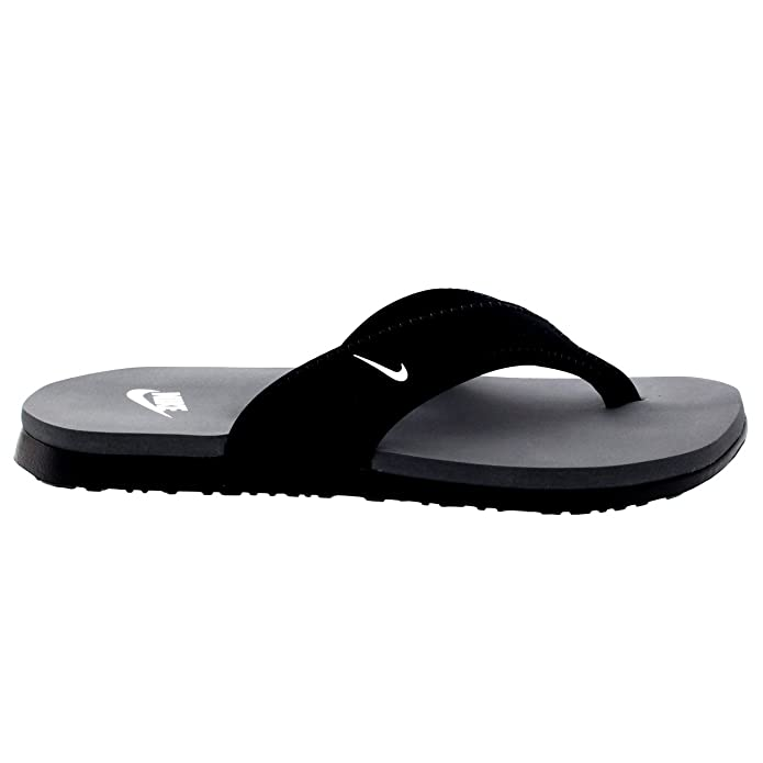 Amazon.com | Nike Men's Celso Thong Plus Sandal (12, Black/White-Cool Grey)  | Sport Sandals & Slides