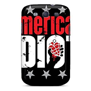High Quality Phone Cases For Samsung Galaxy S3 With Allow Personal Design Lifelike Green Day Pattern KellyLast