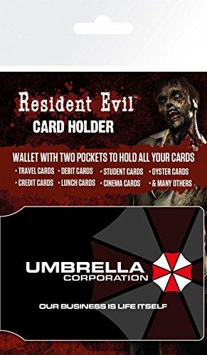 Amazon.com: 1art1 Resident Evil Credit Card Holder Wallet ...