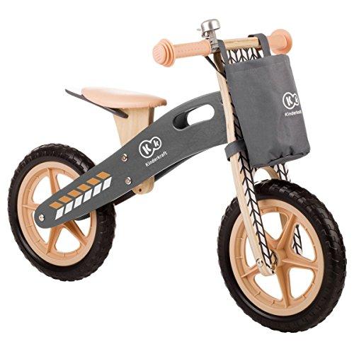 🥇 Kinderkraft – Bicicleta infantil sin pedales natural