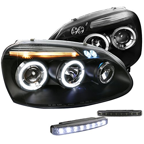 Black Projector Headlight Bumper Lights