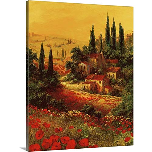 Gallery-Wrapped Canvas Entitled Toscano Valley I by Art Fronckowiak 29