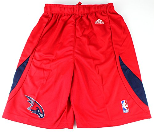 fan products of Atlanta Hawks NBA adidas Youth Alternate Shorts Red (Youth Small 8)
