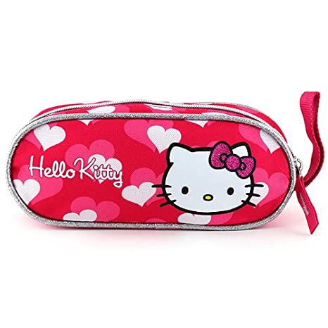 Target Hello Kitty Mini Pencil Case Estuches, 23 cm, Rosa ...