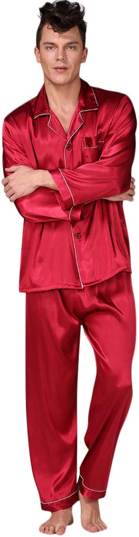 Fannyfuny Ropa Conjunto Hombre Pijamas Invierno Sudadera ...