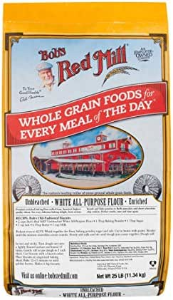 Flours & Meals: Bob's Red Mill Unbleached White All Purpose Flour