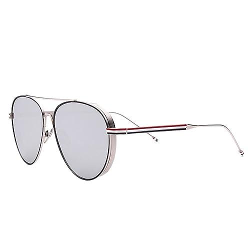 Gafas De Sol De Ocio Gafas De Sol De Metal Redondo