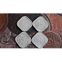 5 PAISA Paise Commemorative - 4 Coins All Different Year Set - CIRCULATED Condition - India