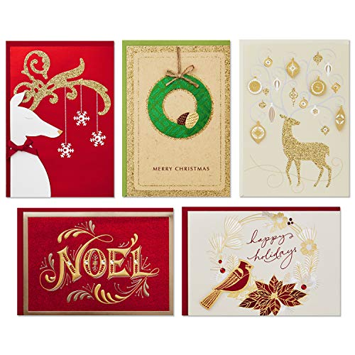 Hallmark Boxed Handmade Christmas Card Assortment (24 Cards and Envelopes) Photo #7