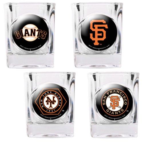 San Francisco Giants 4pc Collector's Shot Glass Set
