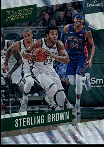 (2017-18 Panini Prestige Mist #193 Sterling Brown Bucks Basketball NBA )