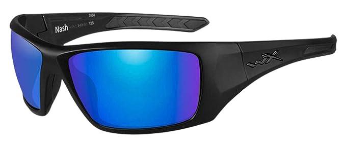 c07dd0f6de Amazon.com  Wiley X Nash Plrzd Blu Grn Matte  Sports   Outdoors