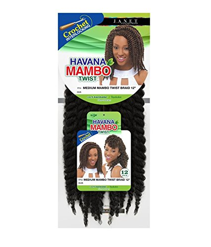 Janet Collection Havana Medium MAMBO TWIST Braid 12