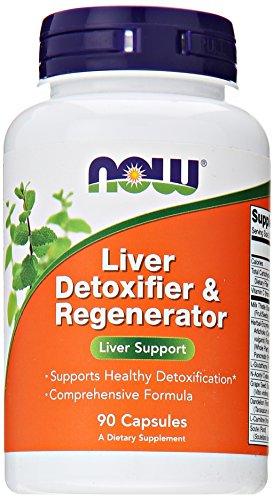 NOW Liver Detoxifier & Regenerator,90 Veg Capsules