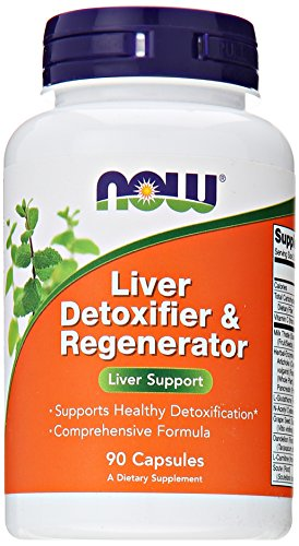 Liver Fatty - NOW Foods Liver Detoxifier and Regenerator, 90 Capsules