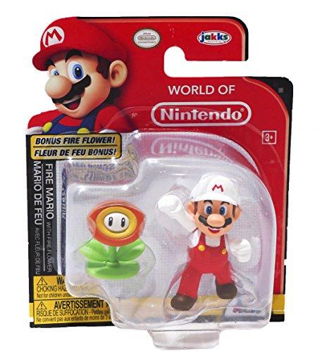 World Nintendo Mario Figure Flower