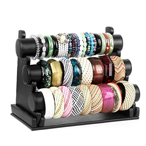 strati di delle che tavolino lusso di braccialetto di lo lusso del vetrina dello mostra alta del scaffale da Scaffale dello della donne di 3 scaffale esposizione braccialetto scaffale classe di 8RHqwxq
