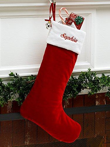 Red Velvet Stocking - 3