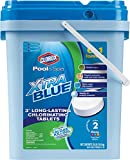Clorox Pool&Spa Xtra Blue 3-Inch Long Lasting Chlorinating Tablets, 35-Pound 23035CLX