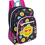 "Best Emoji Backpacks For Kids - Emoji Kids 17"" Full Size School/Travel Backpack Review"