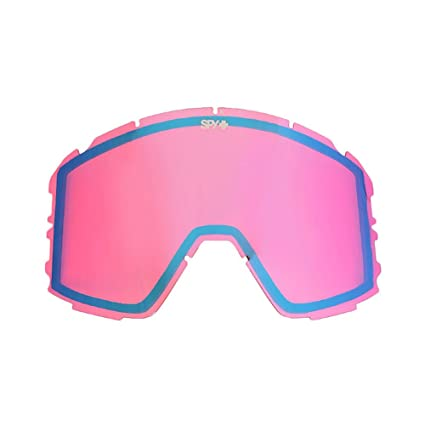 0e2e910c71e0 Image Unavailable. Image not available for. Color: Spy Optic Raider Snow  Goggles, Pink Contact Lens