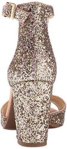 Jessica Simpson Donna Sandalo Con Tacco In Sherron Champagne Multi