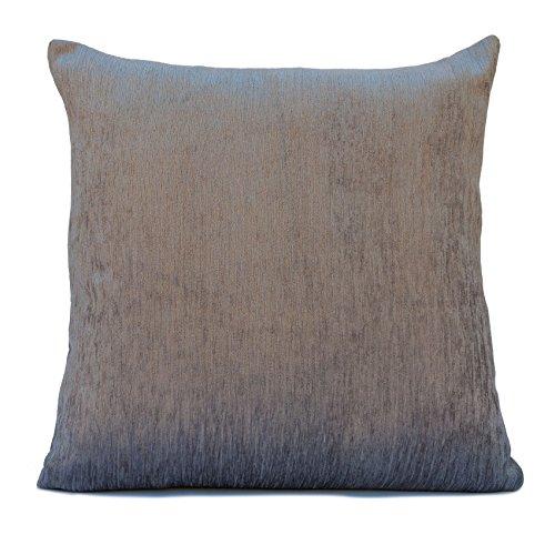 Silver Grey Velour Decorative Throw Pillow Cover,Modern Pill