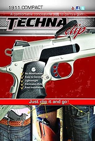 Techna Clip Conceal Carry Gun Belt Clips for Beretta, Diamondback, Glock,  Kahr, Kel-Tec, Kimber, Ruger, Sig Sauer, Smith & Wesson, Springfield,