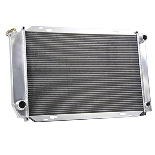 Manual Transmission 3 Row Core Full Aluminum Racing Radiator for 1979-1993 Ford Mustang GT/LX 5.0 V8 ()