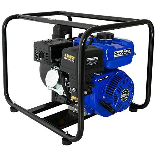 (DuroMax XP702CP 7 hp/132 GPM Gas Water Pump, 2