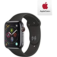 Apple Series 4 GPS & Cellular 44mm Stainless Steel Watch with AppleCare+