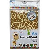 A4 Animal ficha 20 Hojas para Imprimir [Toy]