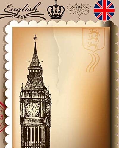 English: London England Planner And Journal For Your United Kingdom Travel Adventures