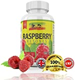 Raspberry Ketone by Rasta-Viti - CAFFEINE FREE Superior Quality Ketones - 100% MONEY BACK GUARANTEE but you WON'T need it, just read the reviews - 60 Strong 1000mg Capsules - 1-2 Month Supply - Weight