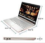 "HP 15.6"" Ryzen 5 8GB/256GB Laptop-Rose Gold"