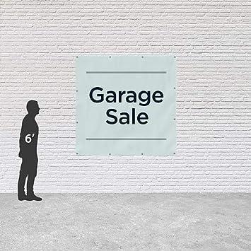 CGSignLab 6x6 Basic Teal Heavy-Duty Outdoor Vinyl Banner Garage Sale