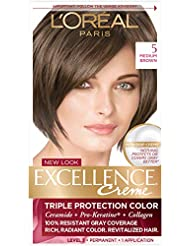 L'Oreal Paris Excellence Creme Hair Color, 5 Medium...
