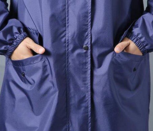 Uomo Antivento Xjlg Lungo Donna Tuta Impermeabile Poncho Trekking colore giacca Impermeabile Moda Adulto A A Ciclismo Da wXRrpvXq4x