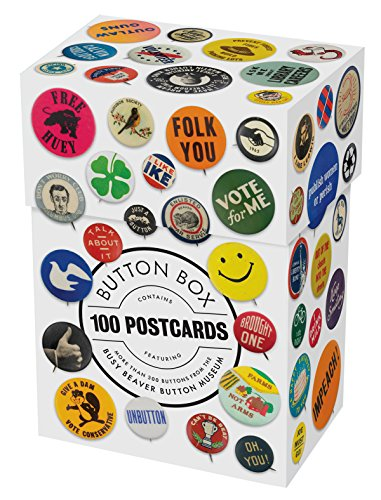 Postcard Pin - Button Box: 100 Postcards