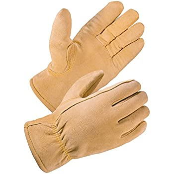 SKYDEERE Winter Gloves - Deerskin Leather Suede Winter