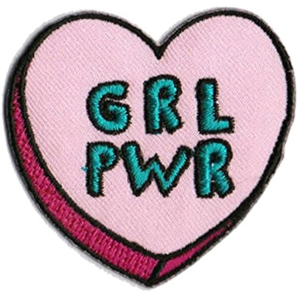Amazon Com Feminist Patches Girl Power Patches Iron On Patch Embroidered Patch Patches For Backpacks Arts Crafts Sewing