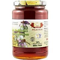 促销 Polar Bear 加拿大蓝莓花蜂蜜 天然营养 1kg/瓶(2019年9月到)