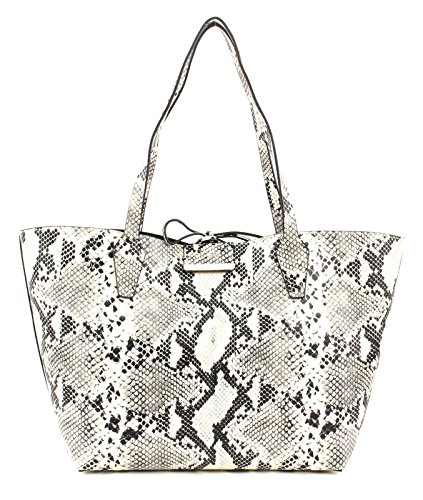 Out Tote Guess Bobbi Inside Multi Python Bianco Pg642236 nero
