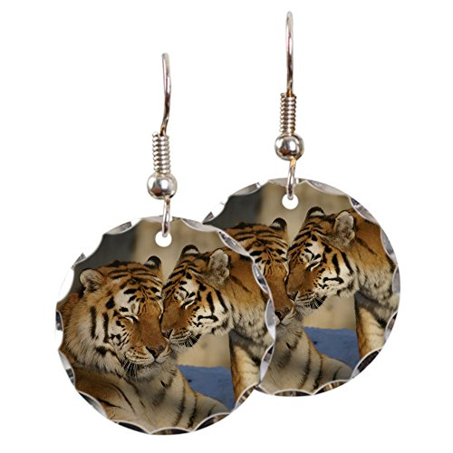 earring-circle-charm-nuzzling-tiger-love