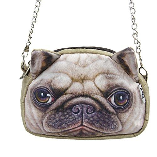 Fakeface Lightweight Handbag Shoulder Crossbody