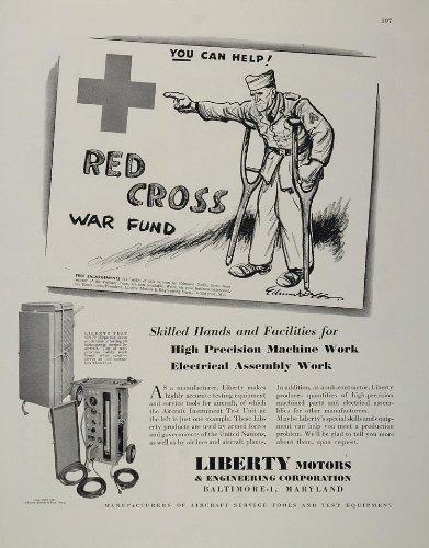 1944-ad-liberty-motors-red-cross-cartoon-edmund-duffy-original-print-ad